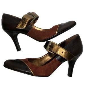 Gianni Bini MELISSA Mary Jane Leather Heels NEW